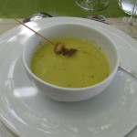 Country Pea Soup with Rosemary