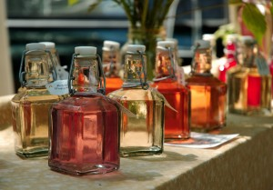 herb infused oils and vinegars