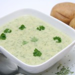 Vichyssoise with Fresh Italian Parsley